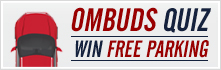 Take the Ombuds Quiz for a chance to win free parking