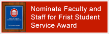 Frist Award Nominations