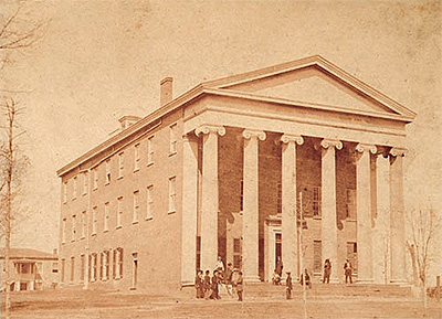 The Lyceum, photographed in 1861