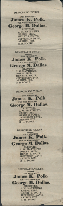 a biography of james knox polk a candidate of the democratic party in 1844 James knox polk (1795-1849) in  the 1844 democratic platform claimed the entire oregon area,  james k polk: james knox polk biography.