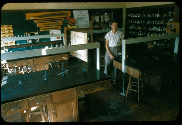University Of Mississippi Visual Collections John Phay Color Custom Science Lab Furniture Collection