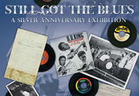 Blues exhibit poster