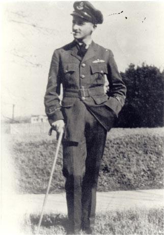 William Faulkner posed with his horse
