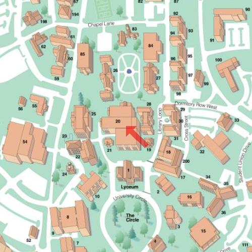 university of mississippi campus map Special Collections Visiting Special Collections university of mississippi campus map