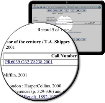 Computer Call Number