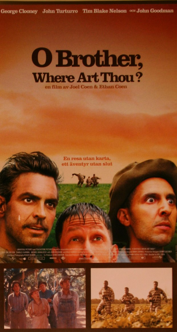 O Brother, Where Art Thou Movie Poster University of Mississi...