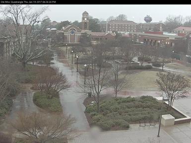 Quadrangle webcam image