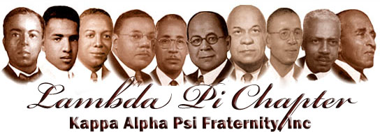 Kappa Alpha Psi Founders in Order Kappa Alpha Psi Fraternity
