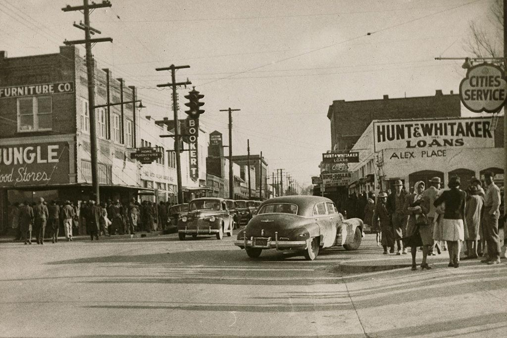 Image Of Farish Street In 1947